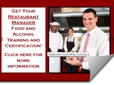 Food and Alcohol Certification Courses